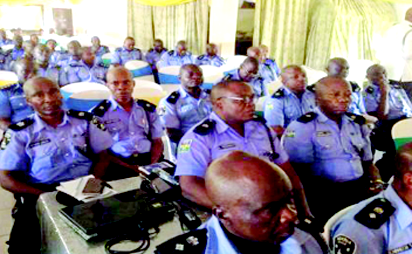 Training for Security Agencies on the rights of suspects in custody